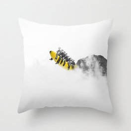 All Aboard. Throw Pillow