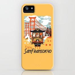 Enjoy San Fransokyo iPhone Case