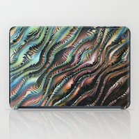 novelty iPad Cases featuring Turbulence by Moody Muse