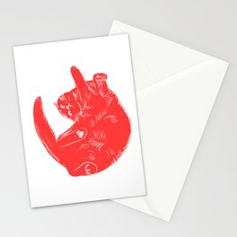 Liliane - Cat colour print Stationery Cards