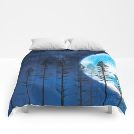 The Boy and the Blue Moon Comforters