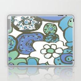 DUSTY BLUE GARDEN Laptop & iPad Skin