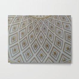 Ceiling Design. Metal Print