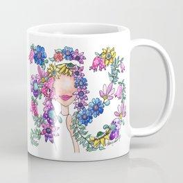 Flowers in Her Hair Coffee Mug