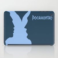 pocahontas iPad Cases featuring Pocahontas by Citron Vert