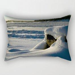 Rock on Mackenzie Shore Rectangular Pillow