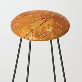 Autumn Explosion Counter Stool