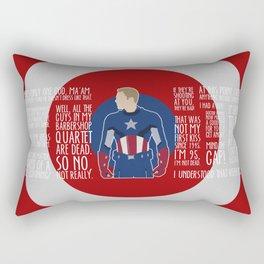 The First Avenger Rectangular Pillow
