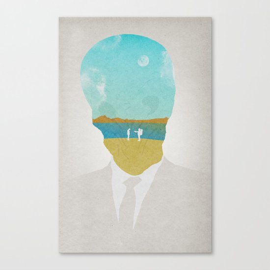 the (Silence) Impossible Astronaut Canvas Print