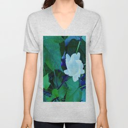 Cotton Blossom Unisex V-Neck