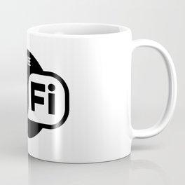 Free WiFi Here Coffee Mug