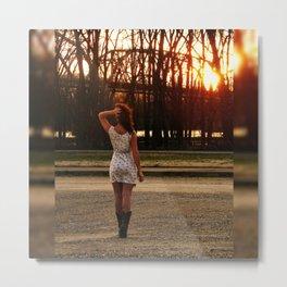 Country Girl Metal Print