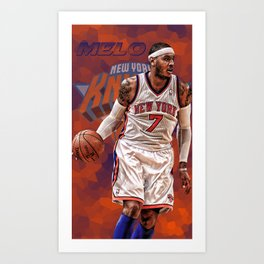 Carmelo New York Art Print