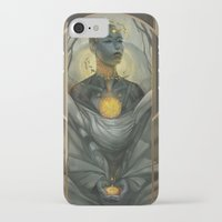 honeycomb iPhone & iPod Cases featuring Honeycomb by Julie Dillon