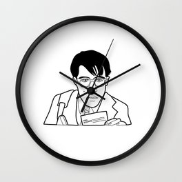 MAX FISCHER FROM RUSHMORE Wall Clock