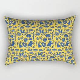 Pattern - forest party Rectangular Pillow