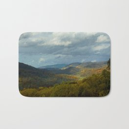 Great Smoky Mountains Late Autumn Vista Bath Mat