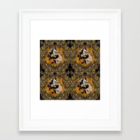 hufflepuff Framed Art Prints featuring Hufflepuff by Cryptovolans