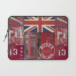 Great Britain London Union Jack England Laptop Sleeve