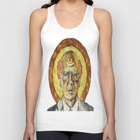 larry Tank Tops featuring Larry David by Carson Kaiser
