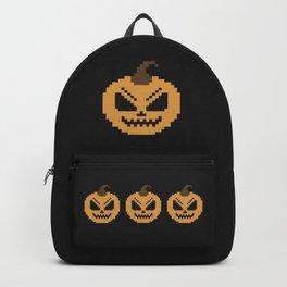 Pixel Pumpkins Backpack
