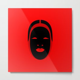 Noh, Ephemera (from Studio Glmn archives) Metal Print