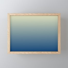 Horizon Framed Mini Art Print