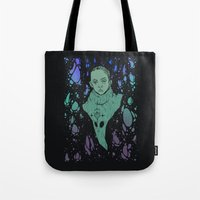 aliens Tote Bags featuring Aliens by Tapioles II