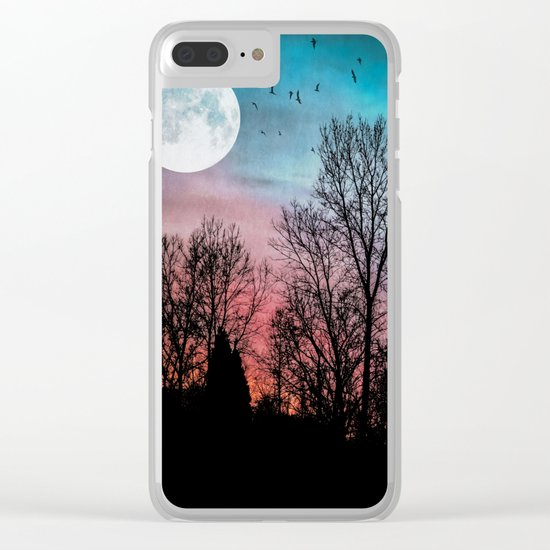 Recurring Dreams Clear iPhone Case