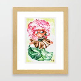 Coco Mintobee - Food And Chibi Framed Art Print