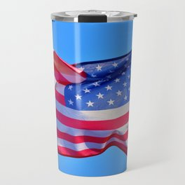 Keep Flying that US Flag you Patriot you Travel Mug