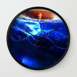 Endless Sea Wall Clock