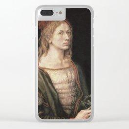 Albrecht Durer - Autoportret. Clear iPhone Case