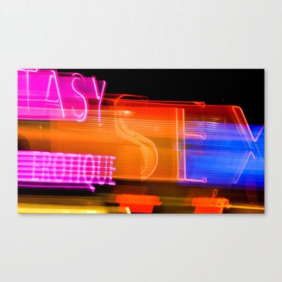 fastlove! Canvas Print