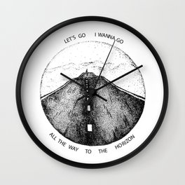 Biffy Clyro - Mountains lyrics Wall Clock