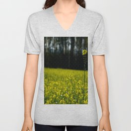 Growing different  Unisex V-Neck