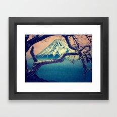 Pausing at Dojiro Framed Art Print