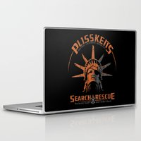 discount Laptop & iPad Skins featuring Snake Plissken's Search & Rescue Pty. Ltd. by 6amcrisis