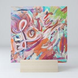 Love Grafitti Mini Art Print