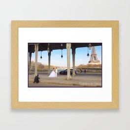 Photo: Sunday in Paris (7 April 13) Framed Art Print