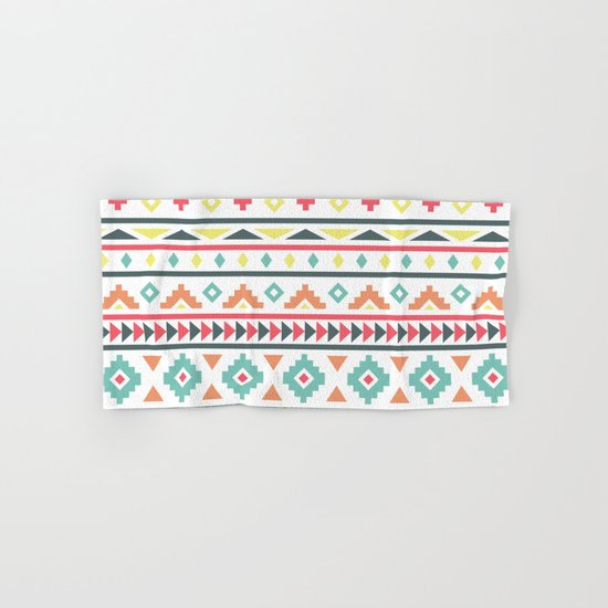 Aztec Pattern Hand & Bath Towel