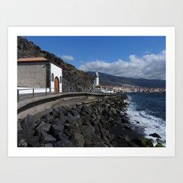 Candelaria Tenerife Art Print