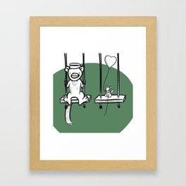 Swings! Framed Art Print