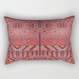N191 - Oriental Heritage Traditional Bohemian Moroccan Style Design Rectangular Pillow