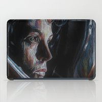 ripley iPad Cases featuring Ripley from Aliens by Ashley Anderson