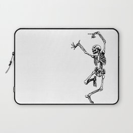 DANCING SKULL Laptop Sleeve