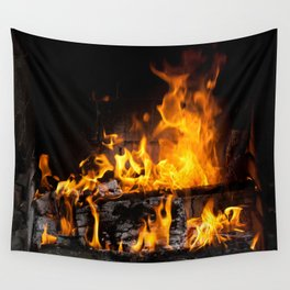fireplace Wall Tapestry