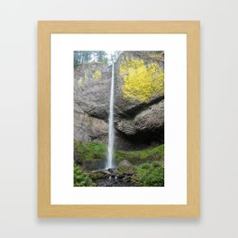 Latourell Falls, Oregon Framed Art Print