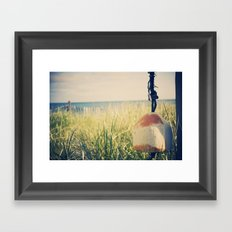 The Buoy Framed Art Print