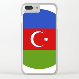 Azerbaijan flag Clear iPhone Case